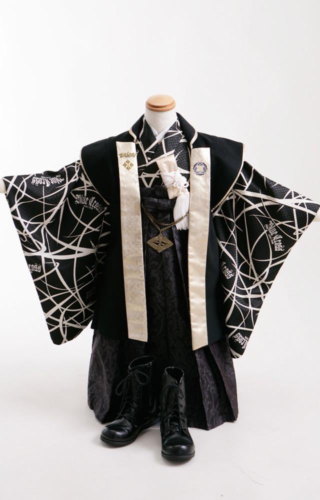 七五三5歳羽織袴の衣装画像2