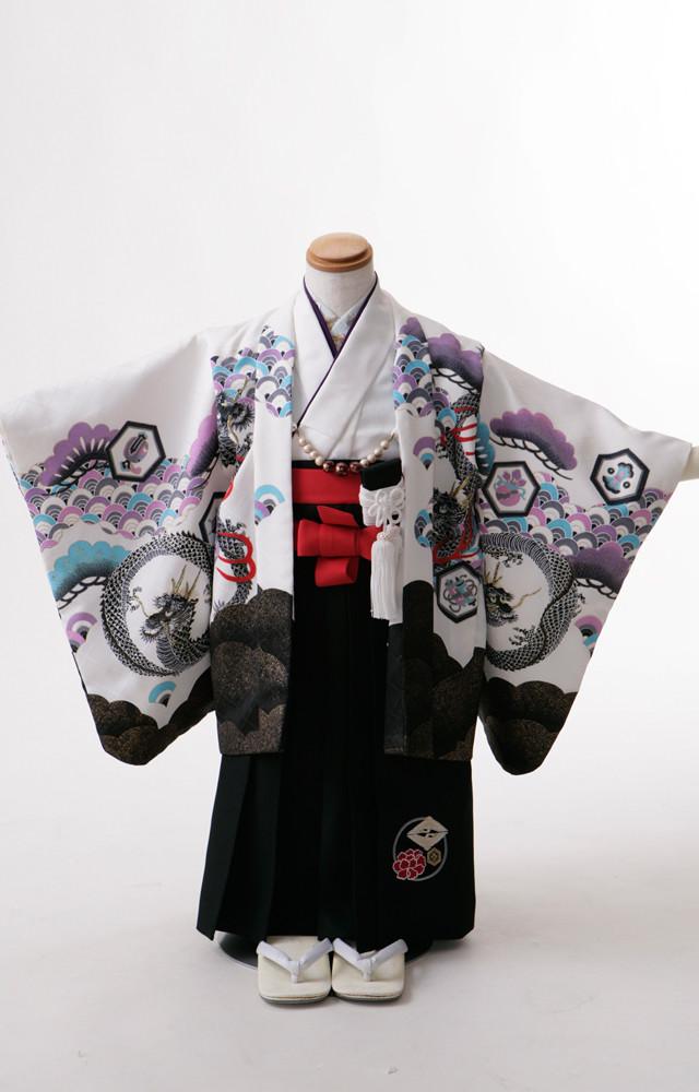 七五三3歳羽織袴の衣装画像1