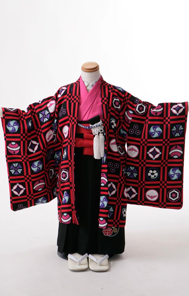 七五三3歳羽織袴の衣装画像2