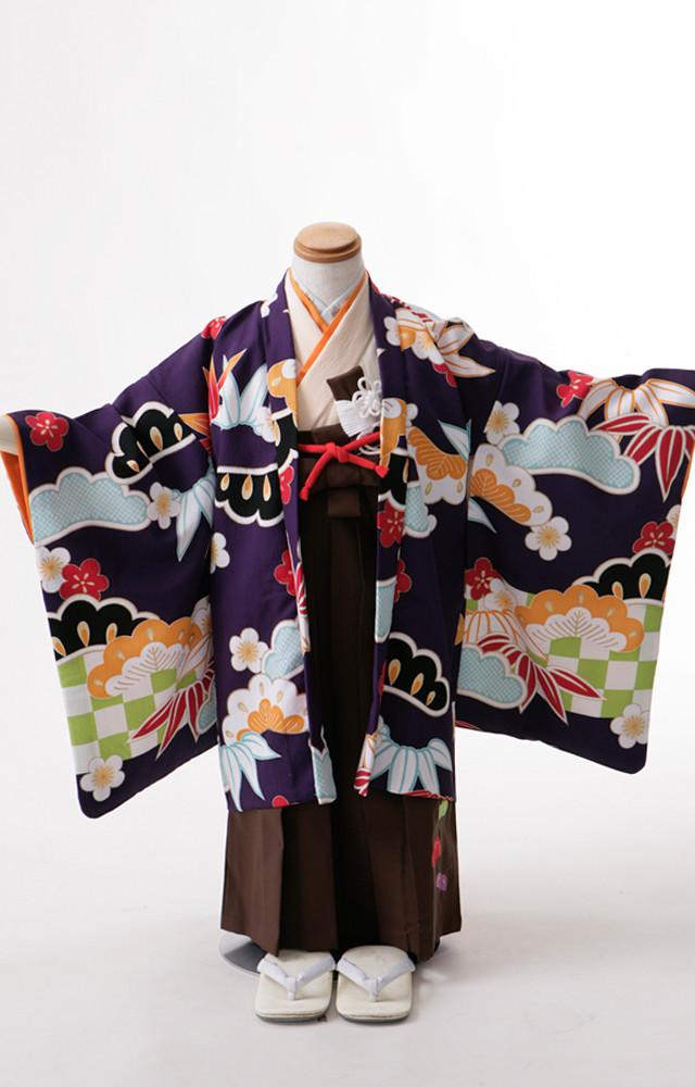 七五三3歳羽織袴の衣装画像3