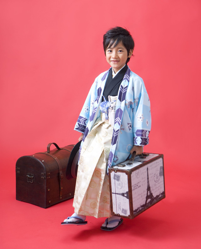 羽織・袴一式 男子の衣装画像1