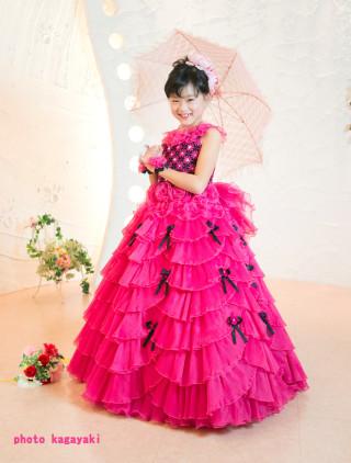 No.4374 赤ドレス