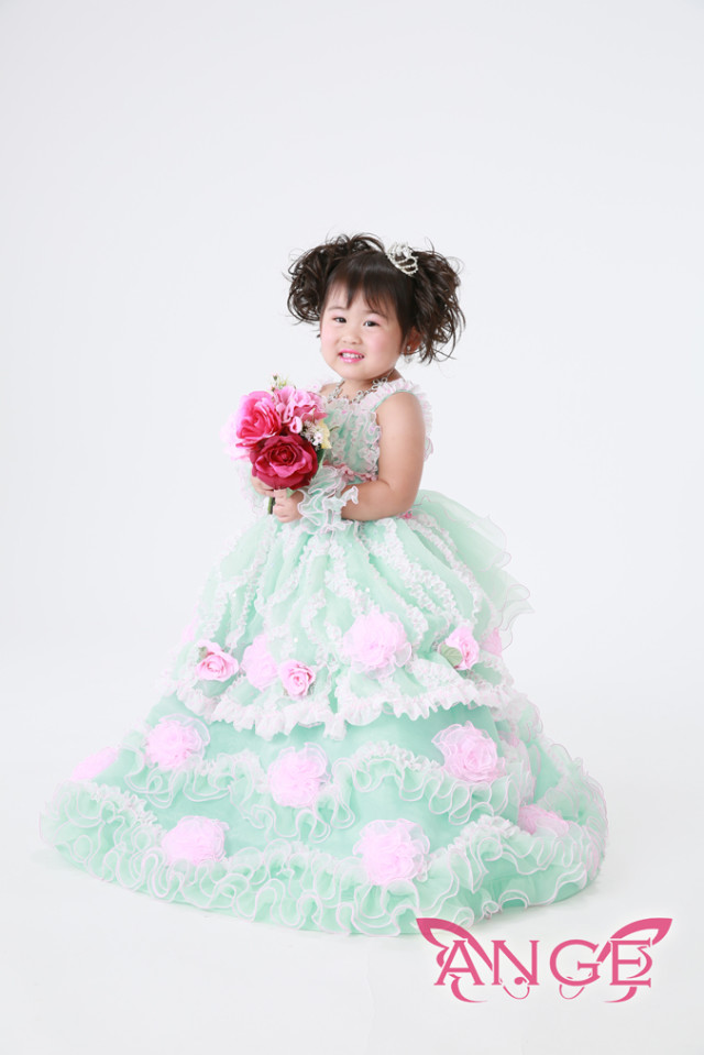 3歳 ドレスの衣装画像1