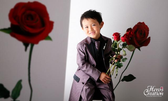 タキシード5-6才の衣装画像1