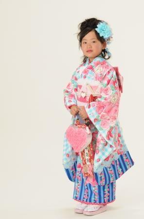 7歳 きものの衣装画像1