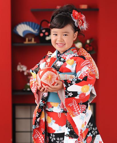 ハイカラスタイル☆7歳女の子の衣装画像1