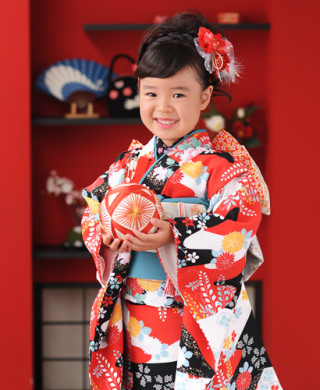 No.2242 ハイカラスタイル☆7歳女の子