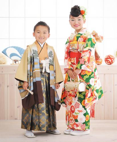 撫子スタイル☆7歳女の子の衣装画像1