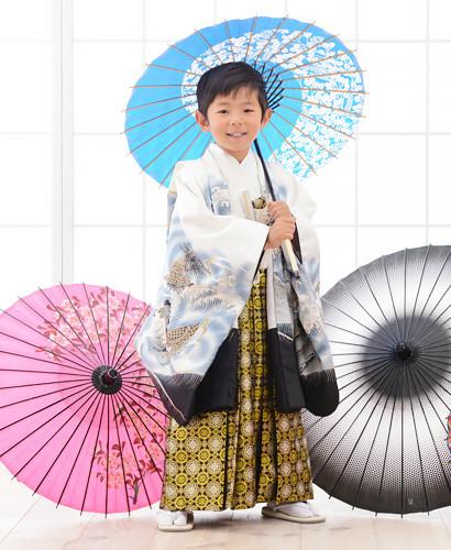 正統派スタイル☆男の子袴の衣装画像1