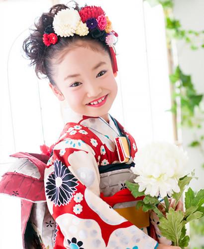 レトロモダン☆7歳女の子の衣装画像1