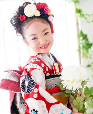 No.2246 レトロモダン☆7歳女の子