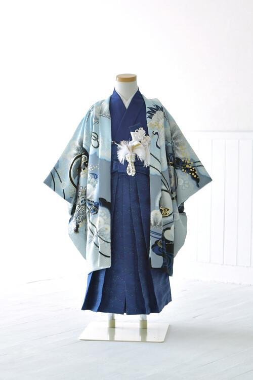 七五三 五歳 羽織 袴の衣装画像2
