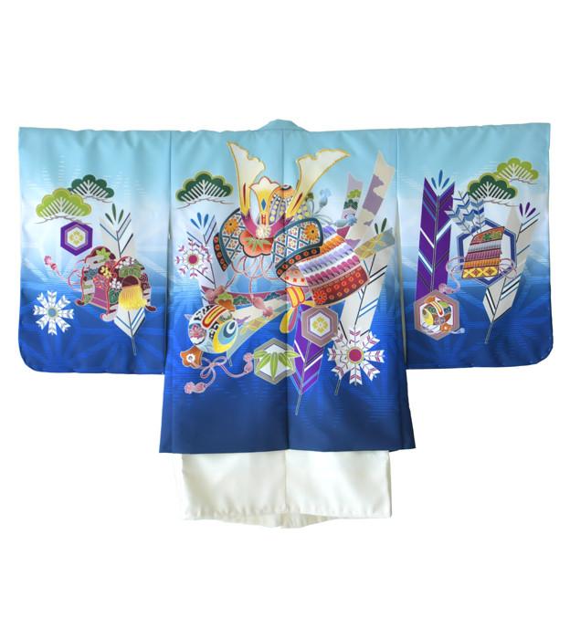 2020新作 5歳男児 羽織袴の衣装画像1