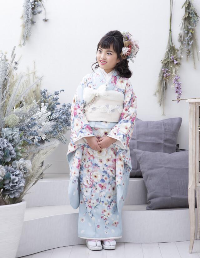 水色_八重桜の衣装画像1