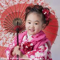 ピンク着物の衣装画像1