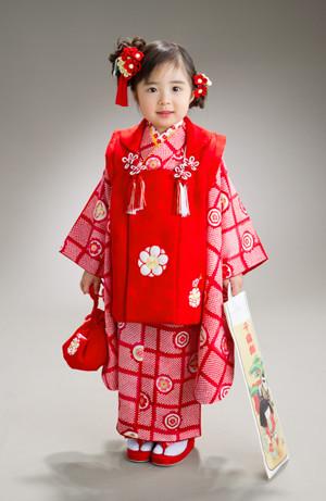 三歳女児貸衣裳の衣装画像1