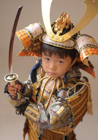 5歳 鎧兜