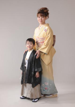 5歳羽織袴&ママ着物