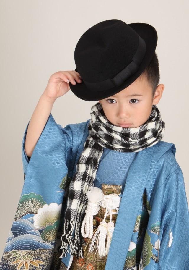 七五三男の子5歳の衣装画像1