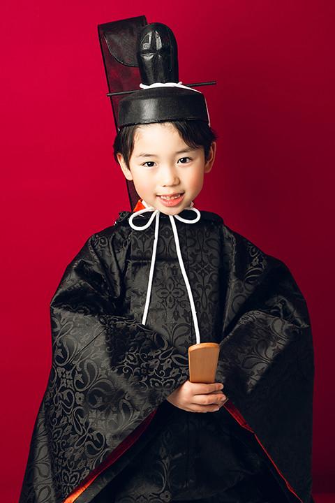 正式参拝 時代衣装 織地の衣装画像1