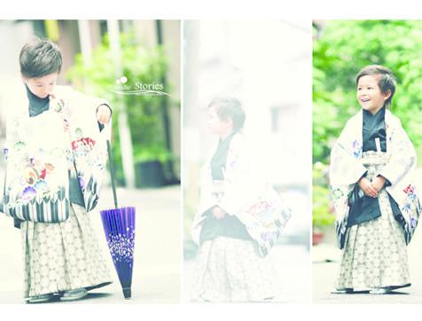 七五三 5歳袴の衣装画像1
