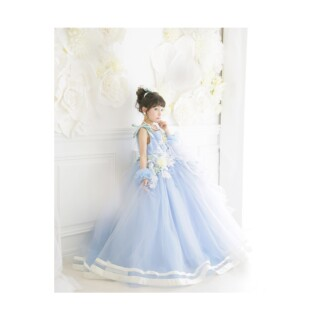 No.5280 2020年の新作ドレス 7歳 120cm