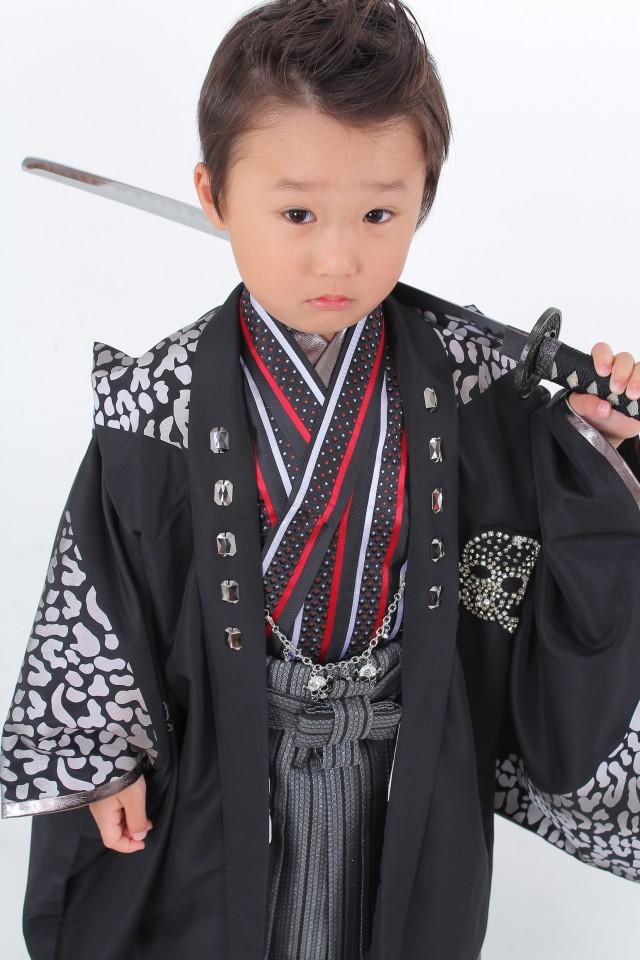 七五三 5歳 男の子きものの衣装画像1