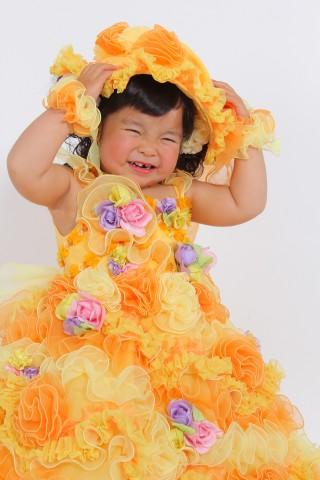 No.1642 3歳女の子用 ドレス