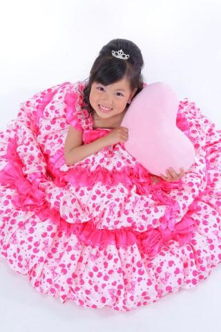No.1643 7歳 女の子用 ドレス