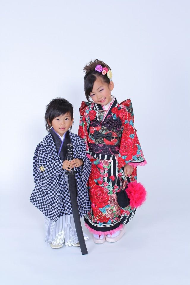 七五三 7歳 女の子きものの衣装画像1