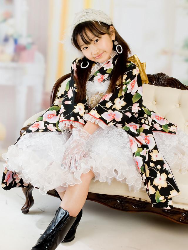 着物ドレス ファンタジーの衣装画像1