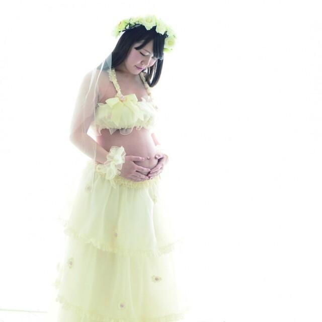 マタニティドレス セパレートタイプの衣装画像1