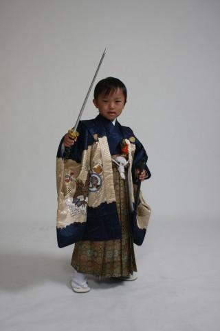 男児レンタル羽織袴
