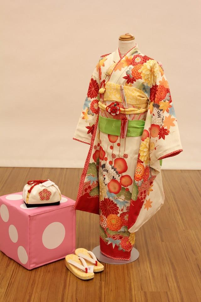 七五三 女の子用きものの衣装画像1