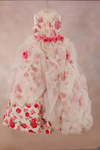 No.1496 女の子用 ドレス