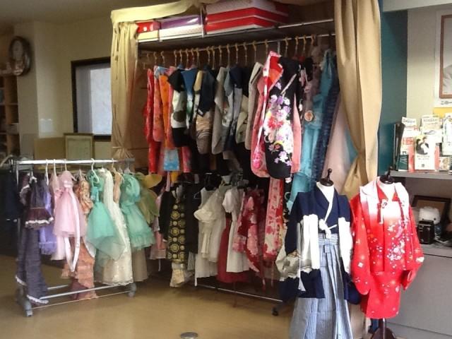 ドレス 着物 お宮参り 七五三 男の子 女の子の衣装画像1