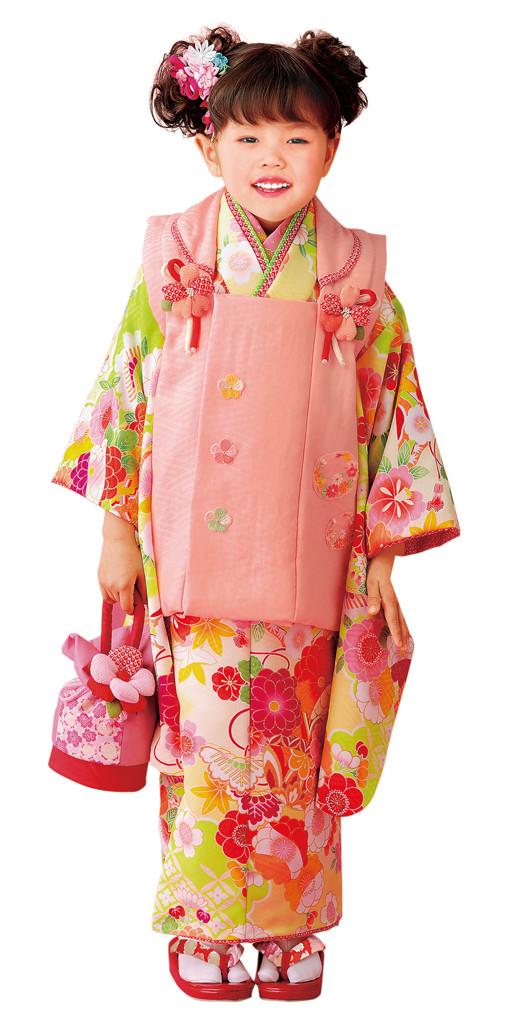 3歳お祝い着№321(身長85~100cmの方用)の衣装画像1