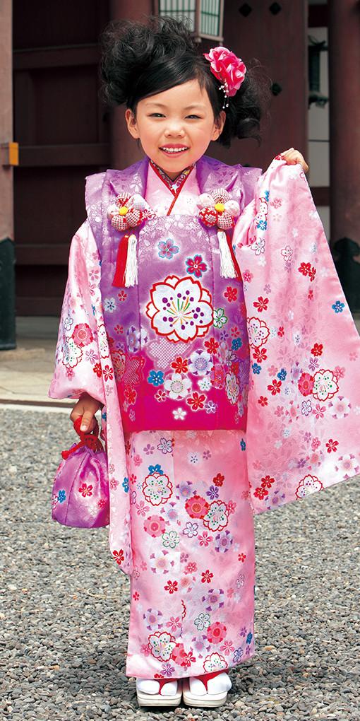 3歳お祝い着№319(身長85~100cmの方用)の衣装画像1