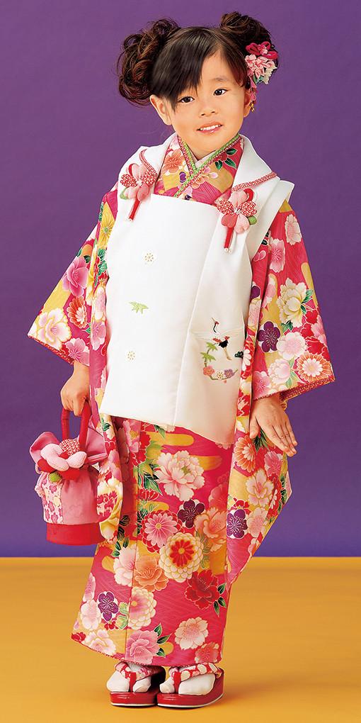 3歳お祝い着№320(身長85~100cmの方用)の衣装画像1