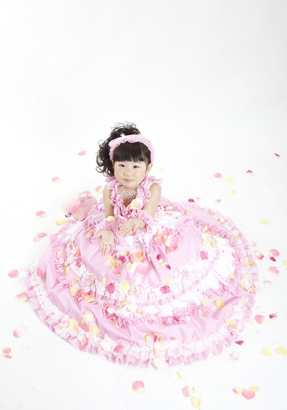 子供用ドレスの衣装画像1