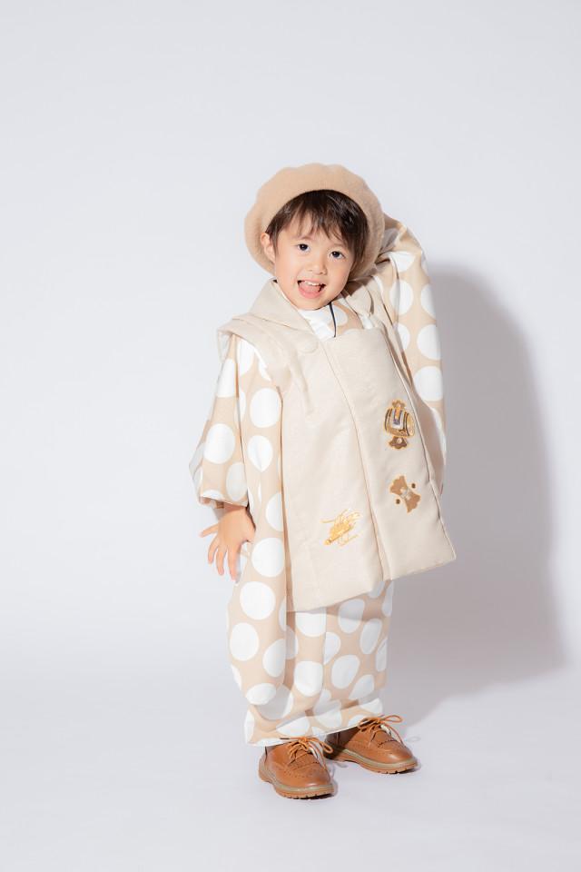 2019年新作!3歳男の子和装の衣装画像2