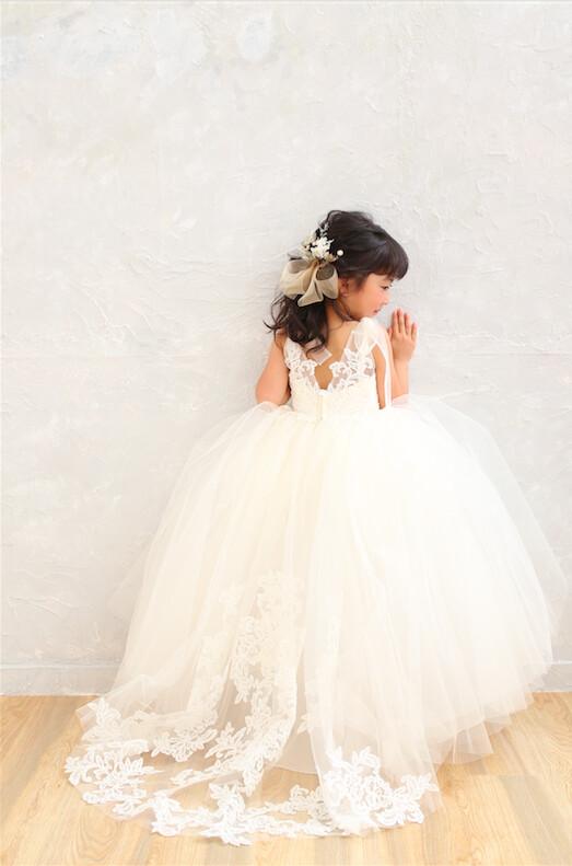 3歳女の子2021年新作ブランドドレスの衣装画像1