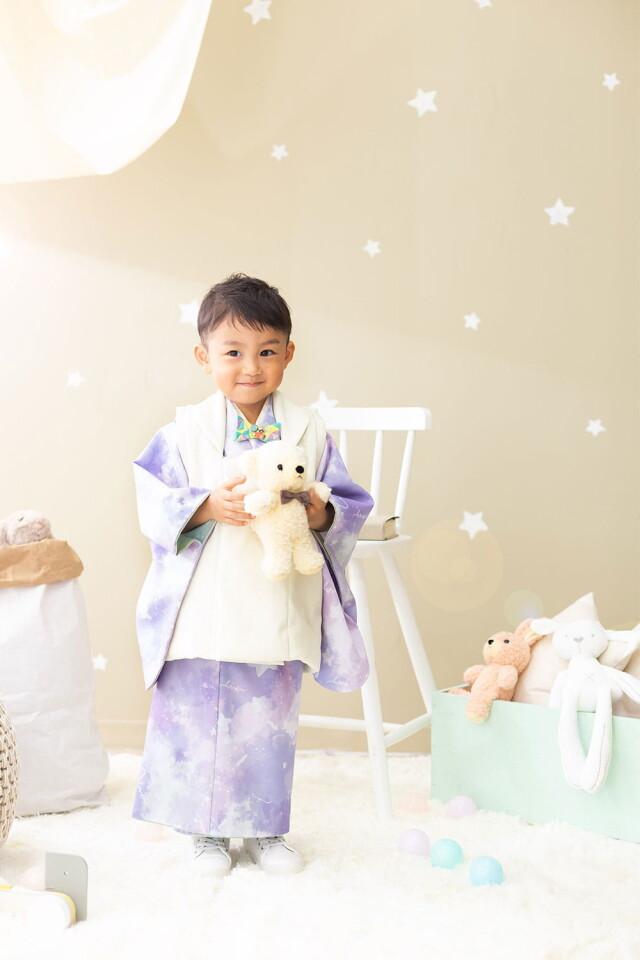 3歳男の子2021年オリジナル着物!の衣装画像1