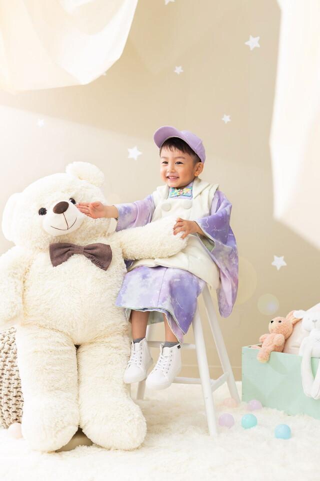 3歳男の子2021年オリジナル着物!の衣装画像2