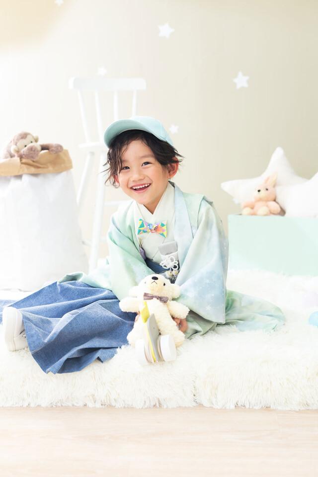 5歳男の子人気袴の衣装画像1