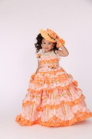 七五三 7歳 女の子ドレス