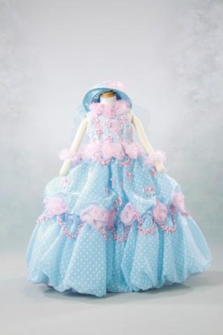 No.1631 七五三 3歳 女の子用ドレス
