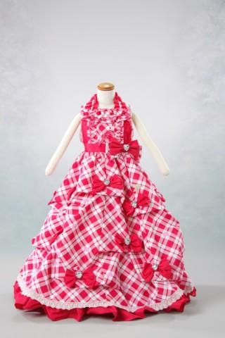 No.1632 七五三 7歳 女の子ドレス