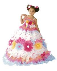 No.2025 七五三7歳用ドレス