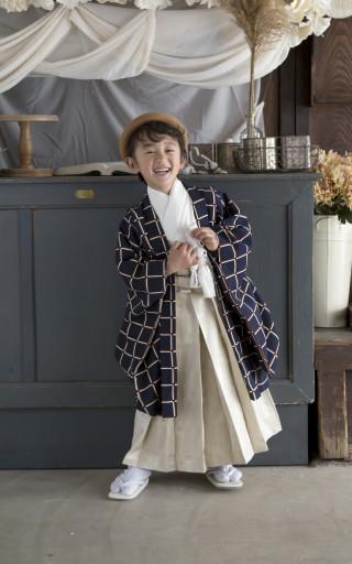 No.4468 5歳用羽織袴